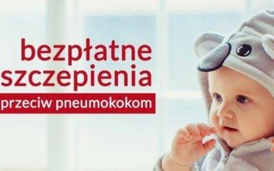 Bezpłatne szczepienia przeciw pneumokokom